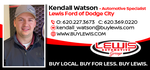 Kendall Watson of Lewis Ford in Dodge City logo