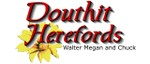 Douthit Herefords logo