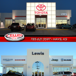 Lewis Toyota Chrysler Dodge Jeep Ram of Hays logo