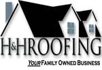 H&H Roofing logo