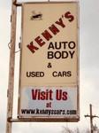 Kenny's Auto Body logo