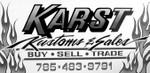 Karst Kustoms & Sales logo