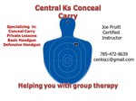 Central Ks Conceal Carry logo