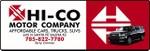 HI-CO MOTOR COMPANY logo