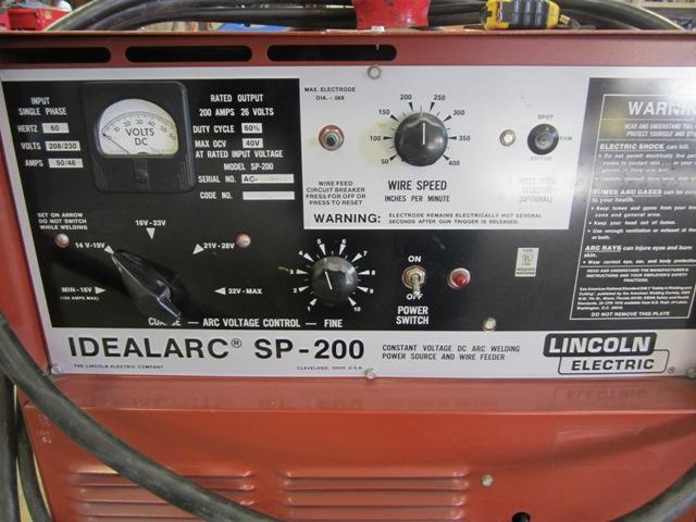 Lincoln Idealarc Sp 200 Mig Welder Nex Tech Classifieds
