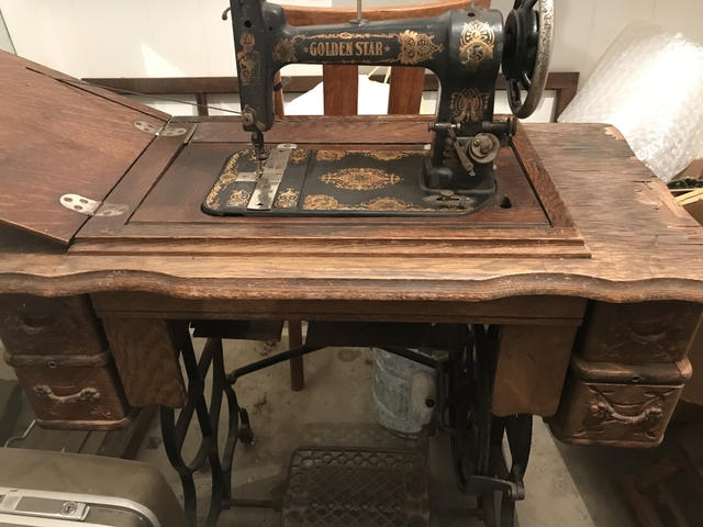Treadle Sewing Machine Nex Tech