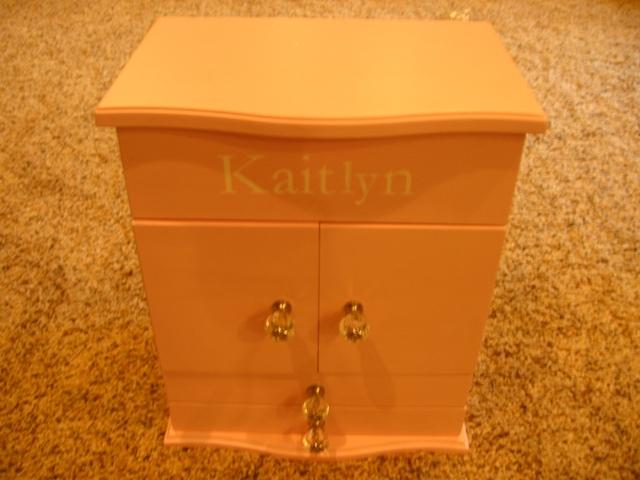 Pottery Barn Kids Abigail Girls Pink Jewelry Box Dresser Euc Nex