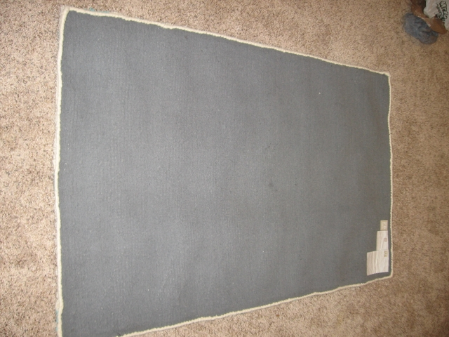 Pottery Barn Shaggy Chevron Wool Rug