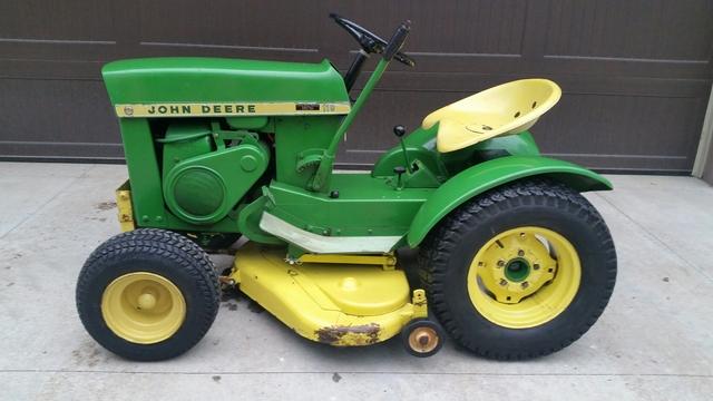 Classic John Deere 110 Mower Nex Tech Classifieds