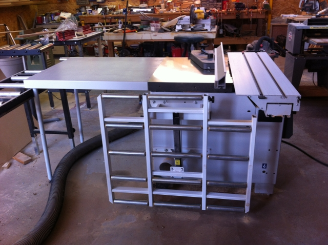 Fantastic Sold Laguna Tss Table Saw And Shop Dust Collector Best Image Libraries Sapebelowcountryjoecom