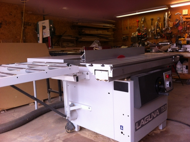 Swell Sold Laguna Tss Table Saw And Shop Dust Collector Best Image Libraries Sapebelowcountryjoecom