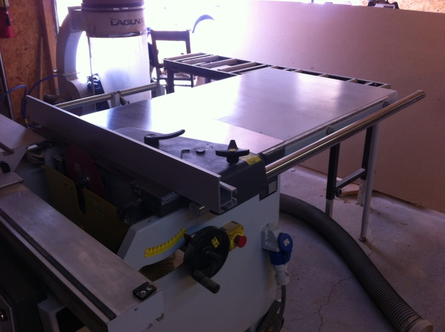 Fabulous Sold Laguna Tss Table Saw And Shop Dust Collector Best Image Libraries Sapebelowcountryjoecom