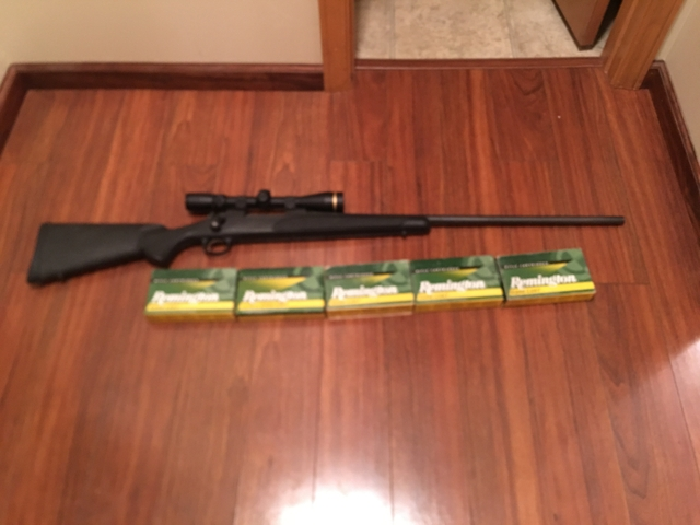SOLD - Remington 700 in 7mm Rem Mag w/ Leupold VX-3