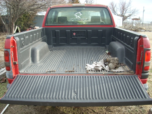 Plastic Bed Liner >> 1995 Dodge Ram Truck Bed Liner