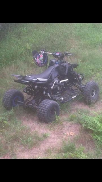 PRICE REDUCED: built 2005 yfz 450