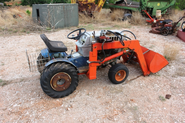 Old Sears Ss 15 Garden Tractor With Power King Front End Loa Nex Tech Classifieds