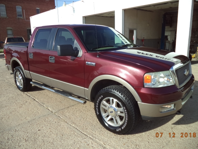 2005 f150 lariat supercrew 4x4