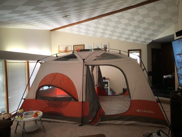 How to set up an ozark trail tent.