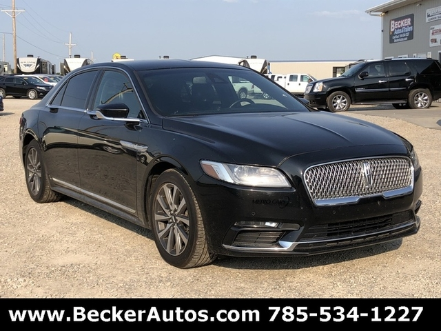 2017 Lincoln Continental Livery Nex Tech Classifieds