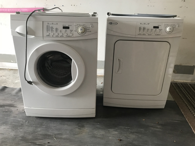 SOLD - Maytag stackable compact Washer and Dryer