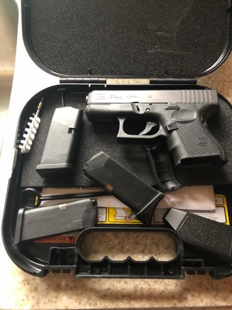 SOLD - Glock 27 40cal gen 4