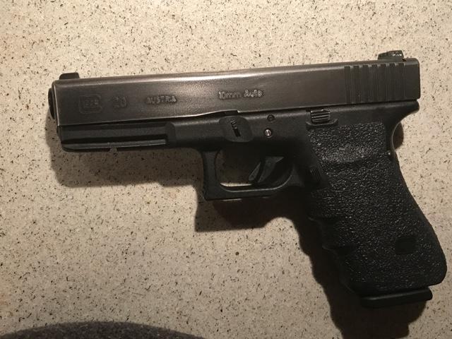 SOLD - Glock 20 gen 3 custom