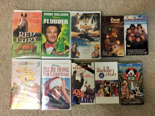 Ill Be Home For Christmas Vhs.Children S Vhs Movies 2 Each Or Make Offer