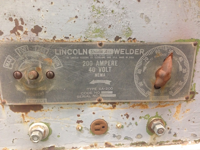 1949 Lincoln SA 200 shorthood