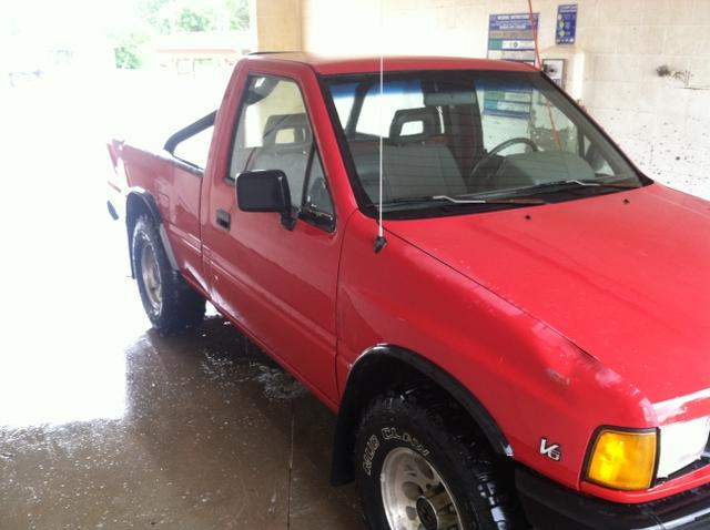1991 isuzu pickup v6 4x4