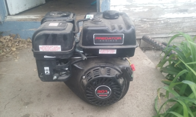Predator 301cc engine