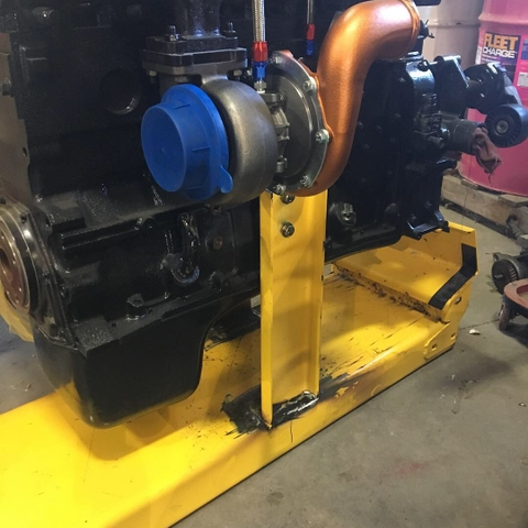 Ppump 24 valve Cummins turbo diesel