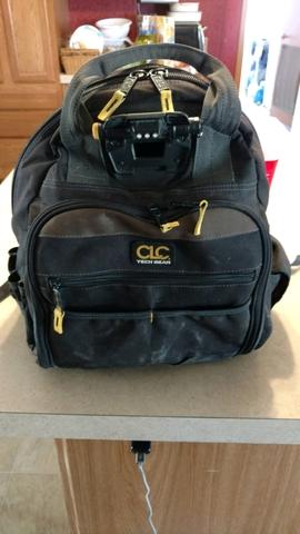 7cb8a0872b8d CLC L255 Tech Gear Back Pack Tool Bag - Nex-Tech Classifieds