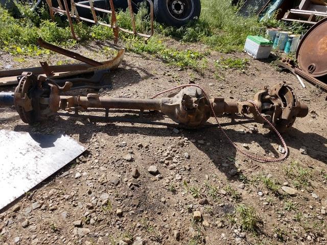 71 Chevy Half Ton Axle Set  3 73 with posi rear