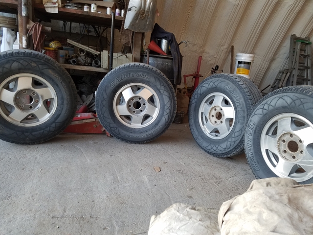 4 Chevy 6 Lug Tires And 16 Inch Wheels Rims Nex Tech Classifieds
