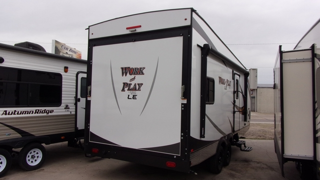 Work And Play Toy Hauler >> New 2019 Forest River Work And Play Toy Hauler 19wle