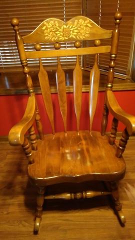 timeless design 8ba5f e1d39 SOLD - Rocking Chair