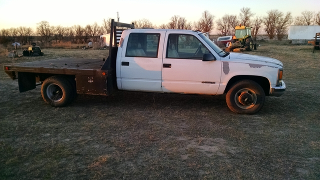 2000 chevy 3500 dually flatbed