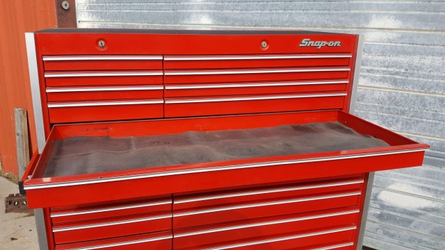 Brilliant Sold Snap On Toolbox Top And Bottom Box Set Uwap Interior Chair Design Uwaporg
