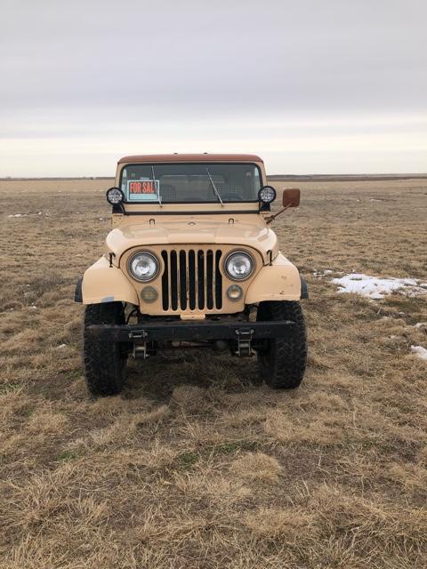 1980 Cj 7 Jeep