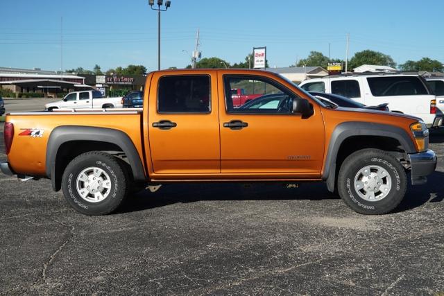 2005 Chevy Colorado Crewcab 4x4 118k Rare Burnt Orange Nex