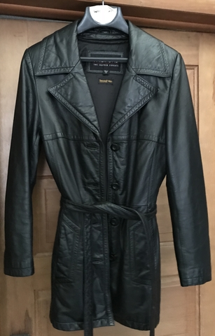 e830c156a Women's Wilson's Leather Thinsulate Black Leather Coat!!