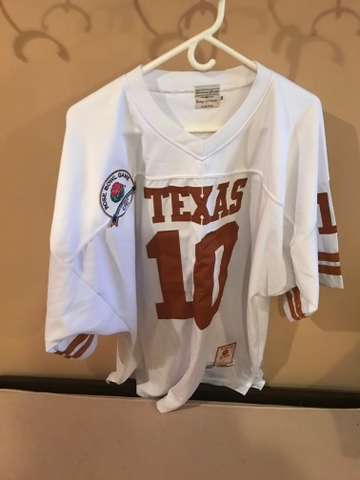 newest collection b81d9 538e3 Vince Young #10 Univ of Texas Longhorns jersey, size 56