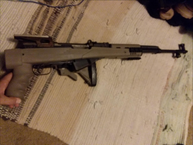 SOLD - Norinco SKS with folding 6 position tapco stock 7 62x39