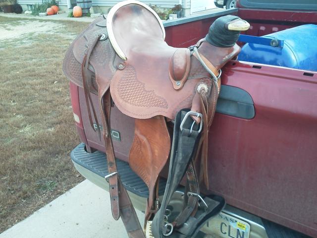 Bud Sankey Wade Tree Ranch Saddle