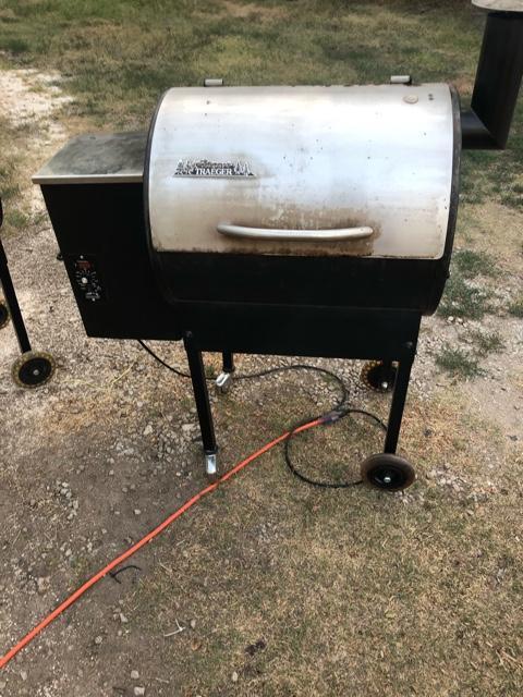Traeger pellet grill