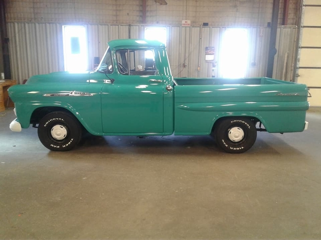 1958 Chevy Apache For Sale >> Sold 1958 Chevy Apache Fleetside Truck Vintage Reduced