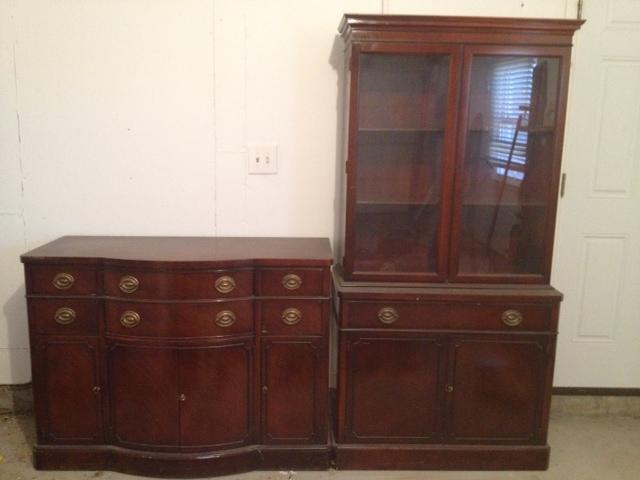 vintage dining room buffet hutch nex tech classifieds rh nextechclassifieds com vintage buffet cabinets antique buffet hutch with mirror
