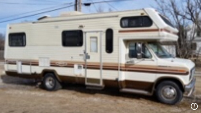 SOLD - 1987 Ford E350 motorhome