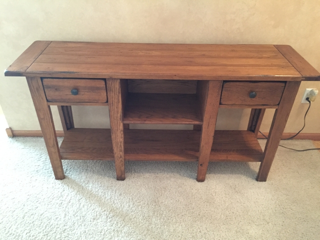 Astounding Broyhill Attic Heirlooms Sofa Table Image Balcony And Home Interior And Landscaping Pimpapssignezvosmurscom