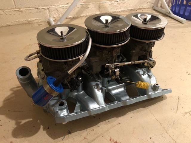1966 Pontiac Tri-Power